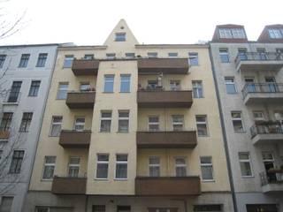 BU8+9 Fassade vorher:   von STELLWERK architekten