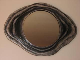 Miroir coquillage:  de style  par Luminaisens