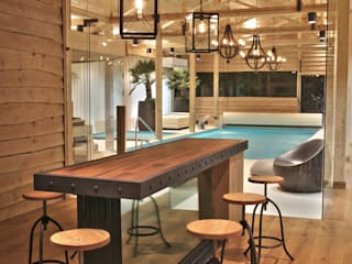Eclectic style spa by SAFRANOW Eclectic