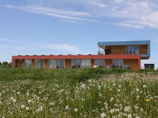 Interlock, Lensahn Moderne Bürogebäude von Architekturbüro Griebel Modern