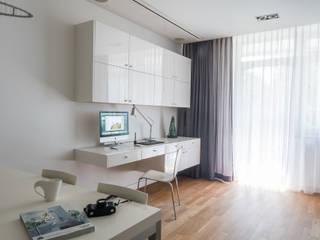 Salas de estar modernas por Jacek Tryc-wnętrza Moderno