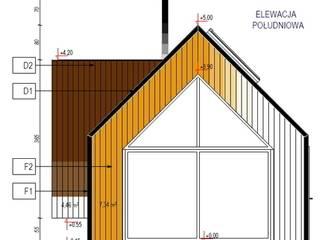 Nowoczesny domek letniskowy pod Warszawą: styl , w kategorii  zaprojektowany przez KDesign Architekci, grupa MODOSO