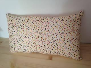 coussin confettis par Rose B. Moderne