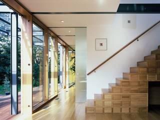 EFH im Effizienzhausstandard 60 Moderne Wohnzimmer von HülsmannThiemeMinor Architekten Modern