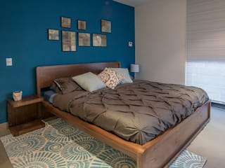 Dormitorios de estilo  por ESTUDIO TANGUMA