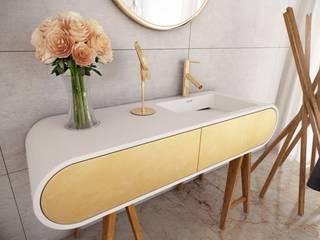 Modern bathrom decorated by Luxum Modern bathroom by Luxum Modern