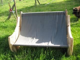 Canapé hamac par Fabrique Sylfae Rustique