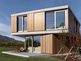 Doppeleinfamilienhaus im Hummel Zürich:  Häuser von Leutwyler Partner Architekten AG