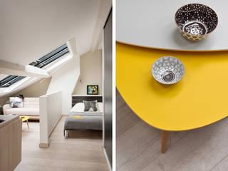 Rénovation d'un studio à Lyon 06 Marion Lanoë Chambre moderne