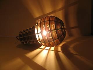 """Lampe suspension ou à poser """" Be a Big Lightbulb"""" par Be The Light Industriel"""