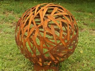 Rost Kugel Durchmesser 80cm:  Garten von Gartendekoshop24