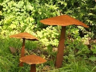 Rost Deko Pilze Gartendekoshop24 GartenAccessoires und Dekoration
