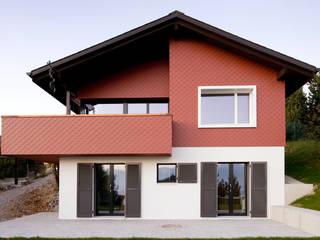 Umbau & Sanierung Ferienhaus Gebertingen/CH Moderne Häuser von Singer Baenziger Architekten Modern