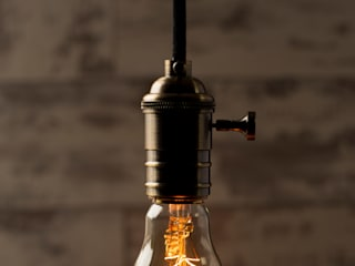 Vintage Light Bulbs: industrial  by William and Watson, Industrial