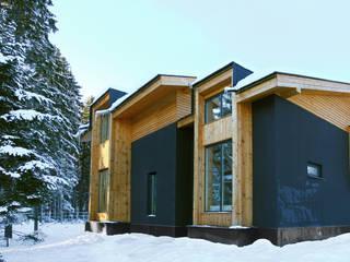 Casas de estilo minimalista de Snegiri Architects Minimalista
