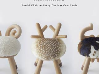 Des chaises qui vous assoies par FCKN DESIGN Éclectique