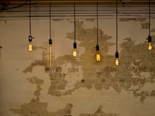 Decorative filament light bulbs Industrial style walls & floors by William and Watson Industrial