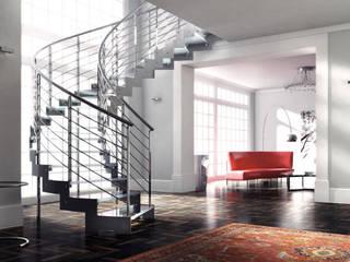 Прихожая, коридор и лестницы в . Автор – NORD SCALE
