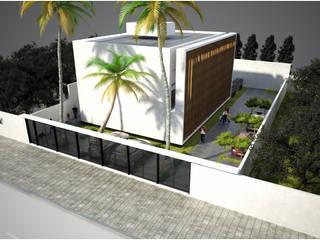 CUBE: Casas de estilo  por Desarrollos Proyecta,Moderno