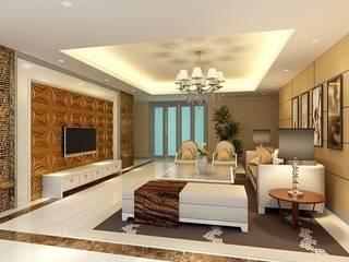 3D GOLD PANEL Modern Duvar & Zemin Diva Yapı Modern