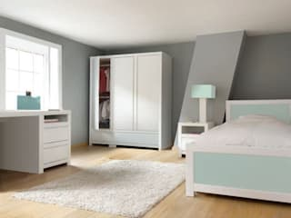 Girls' Bedroom Ideas de bobo kids Moderno