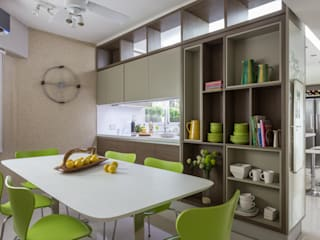 House in Belgrano GUTMAN+LEHRER ARQUITECTAS Kitchen