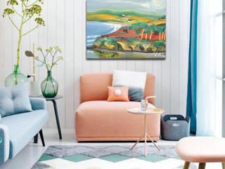 Mes tableaux dans les décoration : la mer: Jardin d'hiver de style  par NetWorking Blog déco