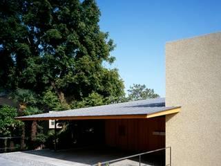 北(道路側)外観: 八木建築研究所 Yagi Architectural Designが手掛けた家です。