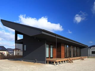 Casas de estilo ecléctico de artect design - アルテクト デザイン Ecléctico