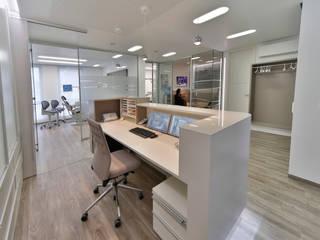 Thekenarbeitsplatz:  Praxen von Breitinger AG - Die Büro- und Praxisgestalter