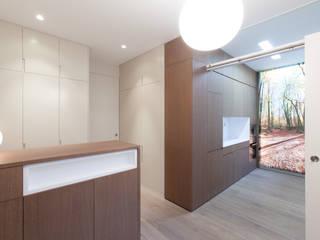 4+1 arquitectes مطبخ