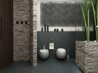浴室 by CAROLINE'S DESIGN