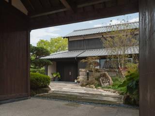 環アソシエイツ・高岸設計室 Giardino in stile asiatico