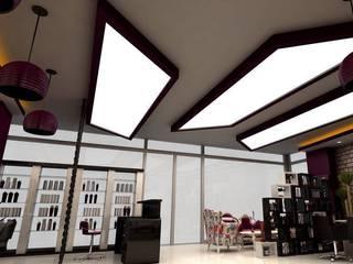 Espacios comerciales de estilo moderno de DETAY MİMARLIK MÜHENDİSLİK İÇ MİMARLIK İNŞAAT TAAH. SAN. ve TİC. LTD. ŞTİ. Moderno