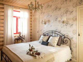 Дача 180м2 Спальня в стиле кантри от Tatiana Ivanova Design Кантри