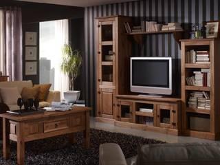 Salones rústicos de pino de Muebles Morte, S.L. Rústico