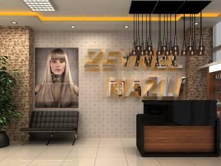 Hairdresser DETAY MİMARLIK MÜHENDİSLİK İÇ MİMARLIK İNŞAAT TAAH. SAN. ve TİC. LTD. ŞTİ. Dükkânlar