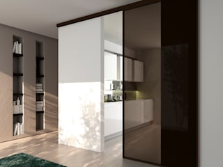 MOVI ITALIA SRL HouseholdRoom dividers & screens Glass Brown