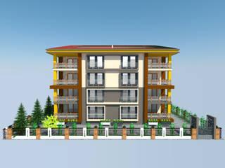 Building Project DETAY MİMARLIK MÜHENDİSLİK İÇ MİMARLIK İNŞAAT TAAH. SAN. ve TİC. LTD. ŞTİ. Modern Evler