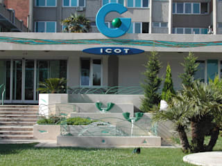 Ospedale ICOT Ospedali moderni di DESIGN Salvo Bennardello Moderno