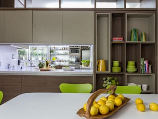 House in Belgrano Modern kitchen by GUTMAN+LEHRER ARQUITECTAS Modern