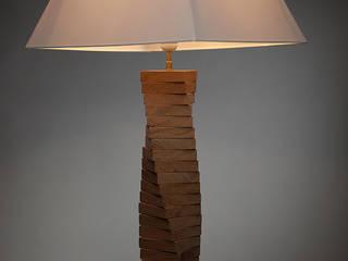 Lampe colimaçon:  de style  par WOOD IT YOURSELF