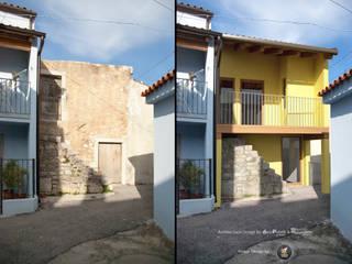 Restauro di una casa in stato di abbandono.: Case in stile  di PUNTIX STUDIO