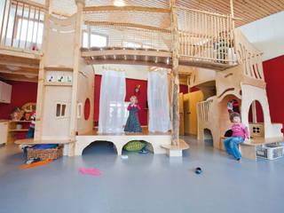 Neugestaltung eines Rollenspielraumes:  Schulen von Schilling Raumkonzepte
