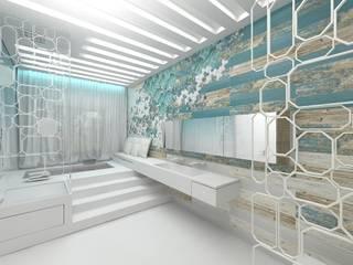 Modern bathroom area Modern bathroom by Luxum Modern
