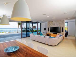 غرفة المعيشة تنفيذ Nicolas Tye Architects