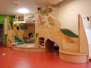 Neugestaltung Kinderkrippe Kupferberg:  Schulen von Schilling Raumkonzepte