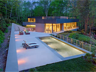 Weston Residence de Specht Architects Moderno