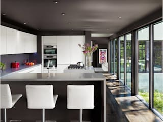 West Lake Hills Residence:  Kitchen by Specht Architects