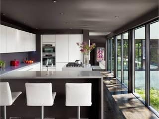 West Lake Hills Residence Specht Architects Cucina moderna